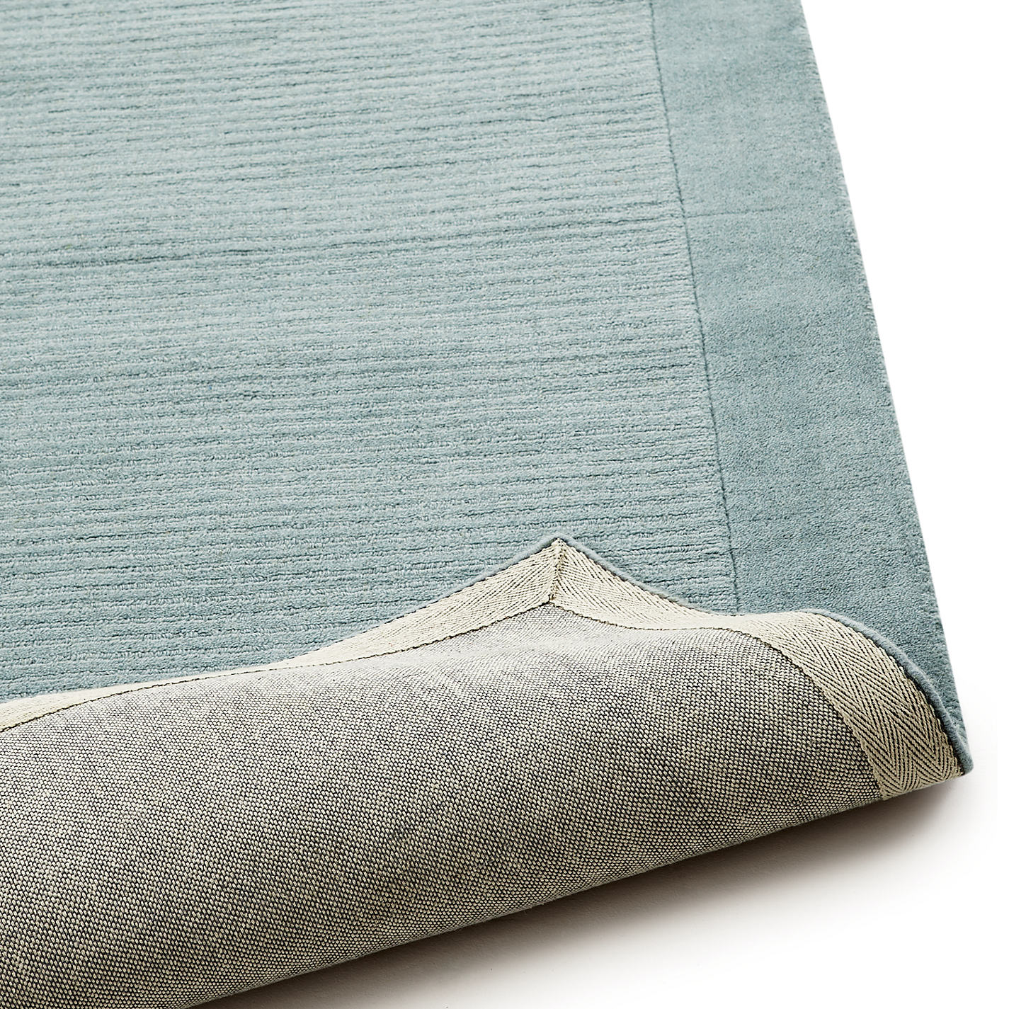 John Lewis Perth Rug Duck Egg L300 X W200cm Online At Johnlewis