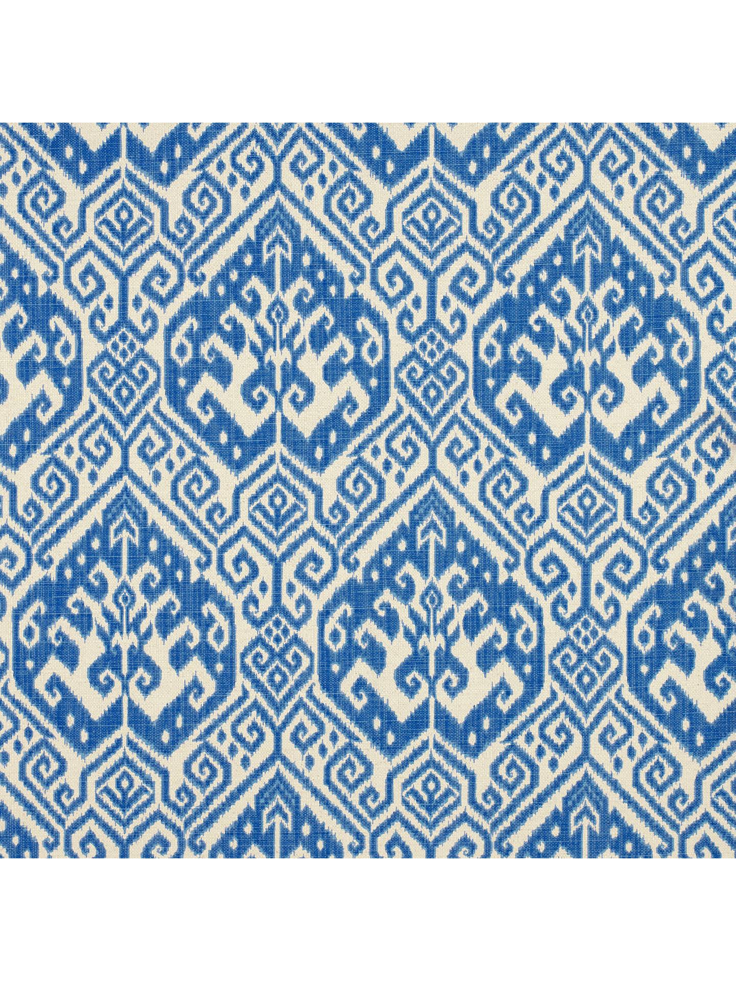 John Lewis Tilia Furnishing Fabric Blue Online At Johnlewis