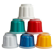 Buy Kitchen Craft Jelly Moulds, Set of 6 Online at johnlewis.com