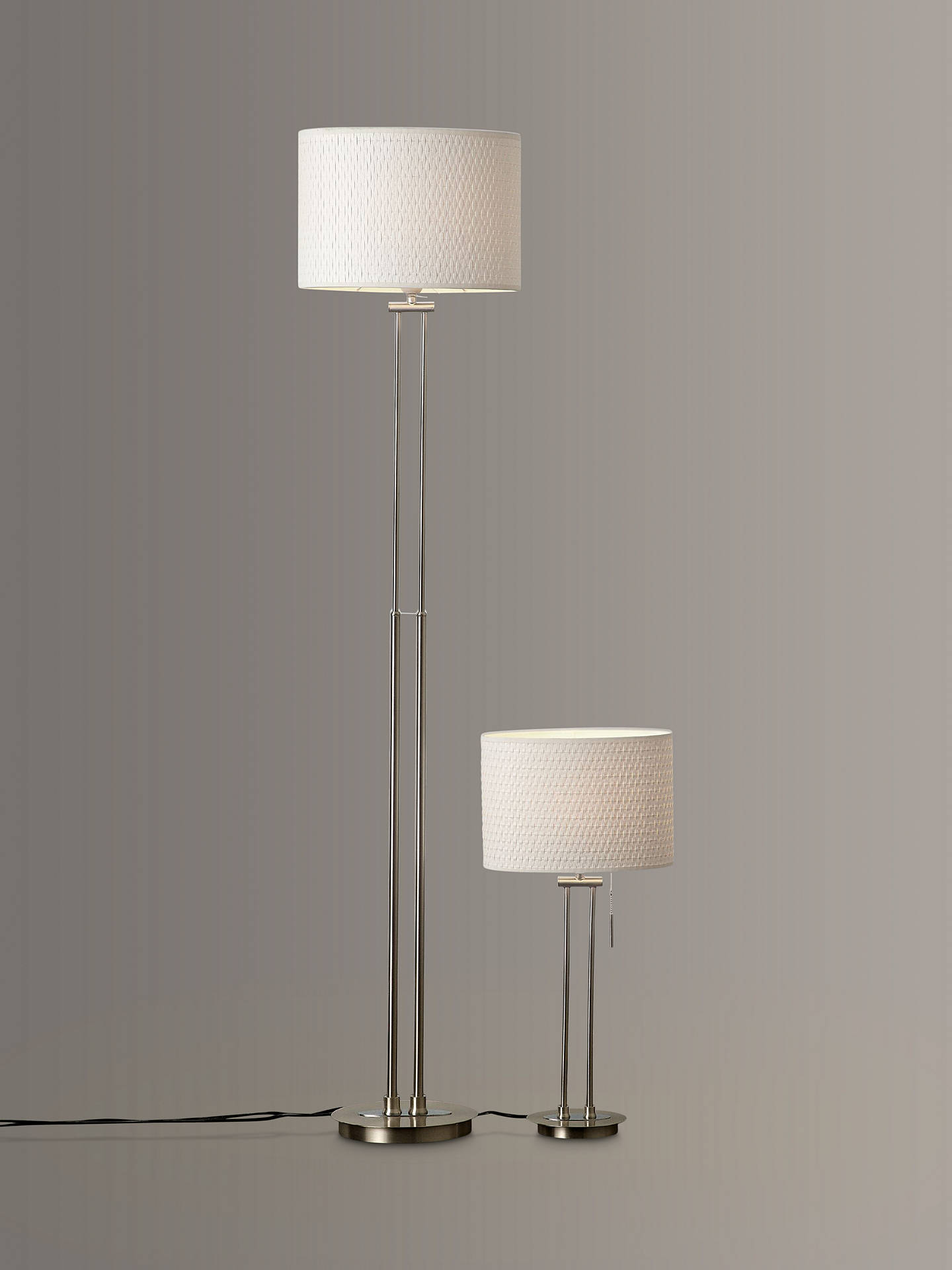 Buy John Lewis & Partners Preston Table and Floor Lamp Duo Online at johnlewis.com