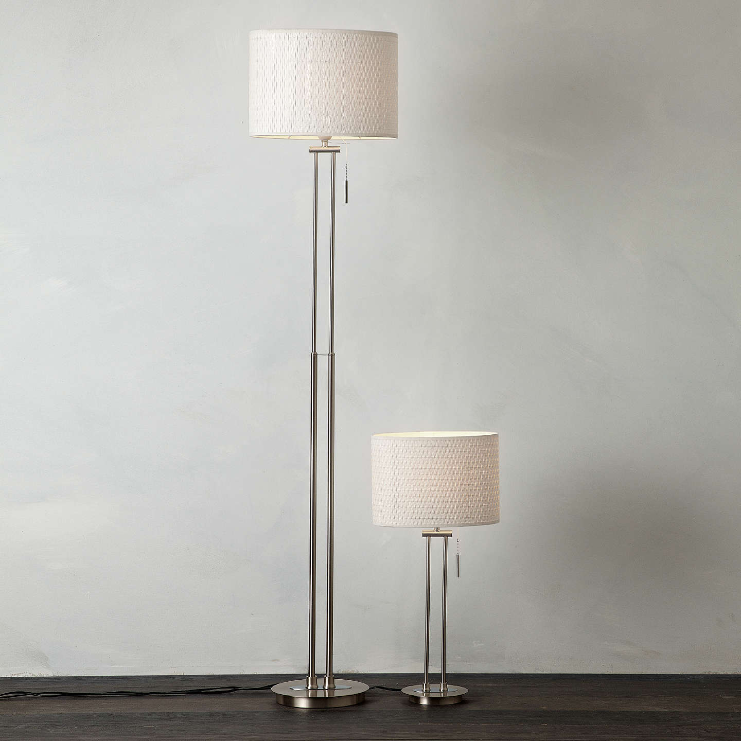 John lewis preston table and floor lamp duo at john lewis buyjohn lewis preston table and floor lamp duo online at johnlewis mozeypictures Choice Image