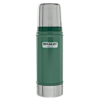 Stanley Classic Vacuum Flask, Hammertone Green, 0.47L