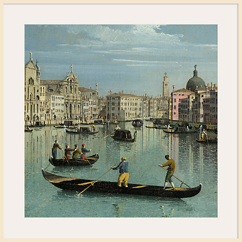 Buy Canaletto- The Grand Canal Facing Santa Croce 1 Online at johnlewis.com