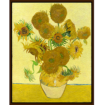 Vincent Van Gogh- Sunflowers