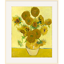 Buy Vincent Van Gogh- Sunflowers Online at johnlewis.com