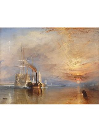 Joseph Mallord William Turner- The Fighting Temeraire