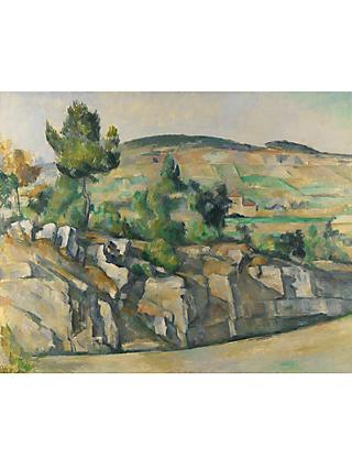 Paul Cezanne- Hillside in Provence