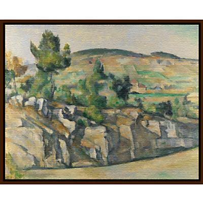 Paul Cezanne- Hillside in Provence