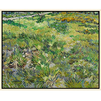 Vincent Van Gogh- Long Grasses with Butterflies