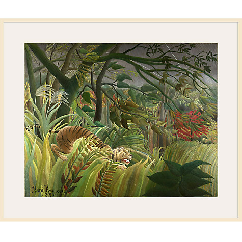 Buy Henri Rousseau- Surprised (Tiger) Online at johnlewis.com