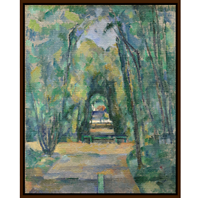 Paul Cezanne- Avenue at Chantilly