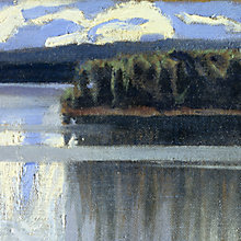 Buy Akseli Gallen-Kallela- Lake Keitele 2 Online at johnlewis.com