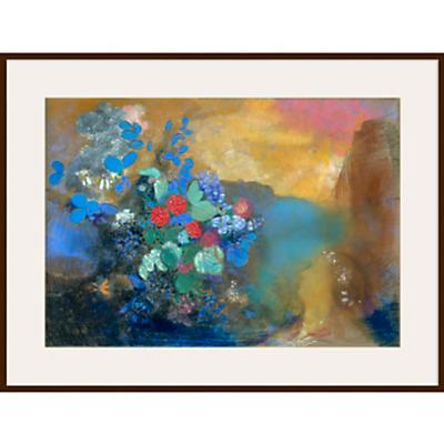 Odilon Redon- Ophelia among the Flowers