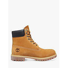 Buy Timberland Classic 6-Inch Premium Waterproof Boots, Yellow Online at johnlewis.com