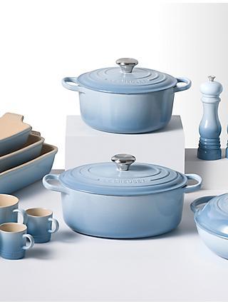 Le Creuset Cookware Coastal Blue
