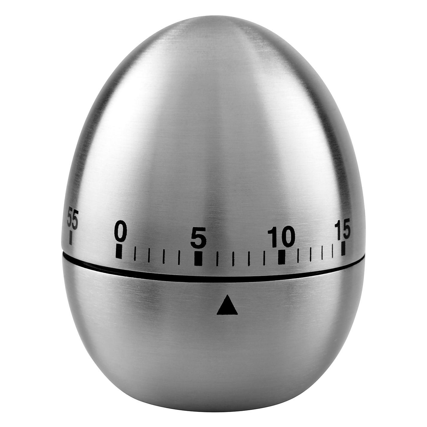 buy john lewis stainless steel kitchen egg timer john lewis
