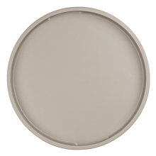 Buy John Lewis Scandi Painted Round Wood Tray, Smoke Online at johnlewis.com