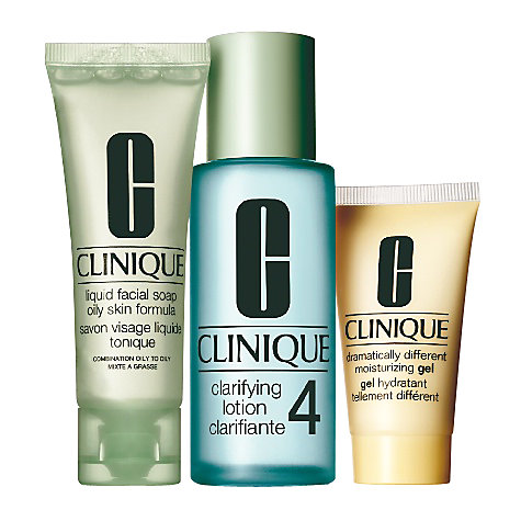 Buy Clinique 3-Step Intro Kit for Skin Type 4 Online at johnlewis.com