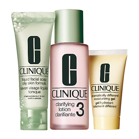 Buy Clinique 3-Step Introduction Kit for Skin Type 3 Online at johnlewis.com
