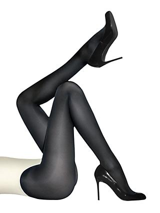 Wolford Satin Opaque 50 Denier Tights, Navy