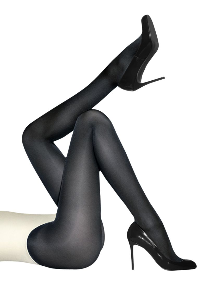 Wolford Wolford Satin Opaque 50 Denier Tights, Navy