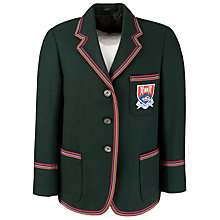 Buy Albyn School Girls' Blazer, Bottle Green Online at johnlewis.com