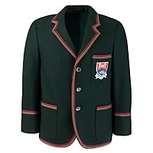 Buy Albyn School Boys' Blazer, Bottle Green Online at johnlewis.com