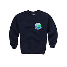 Buy Charleston Primary School Unisex Sweatshirt, Navy Online at johnlewis.com