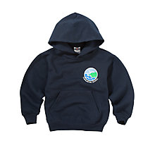 Buy Charleston Primary School Unisex Hooded Sweatshirt, Navy Online at johnlewis.com