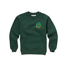 Buy Fernielea Primary School Unisex Sweatshirt, Bottle green Online at johnlewis.com
