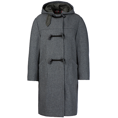 Product photo of School unisex duffle coat grey