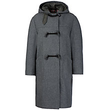 Buy School Unisex Duffle Coat, Grey Online at johnlewis.com