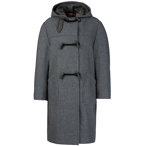 Buy School Unisex Duffle Coat, Grey | John Lewis