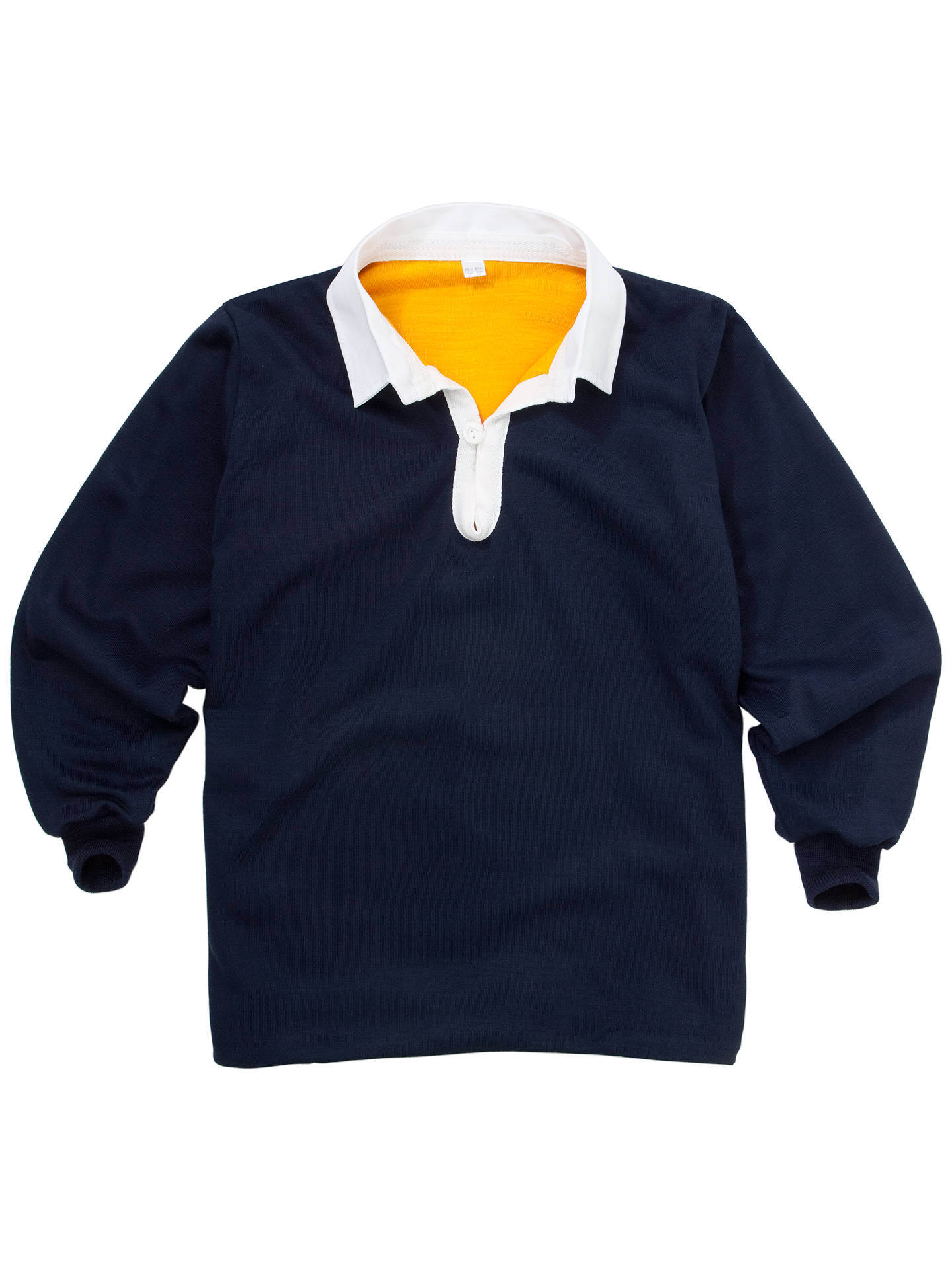 BuySchool Boys' Rugby Jersey, Navy Multi, Chest 30/32 Online at johnlewis.com