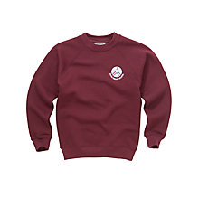 Buy Skene Square Primary School Unisex Sweatshirt, Maroon Online at johnlewis.com