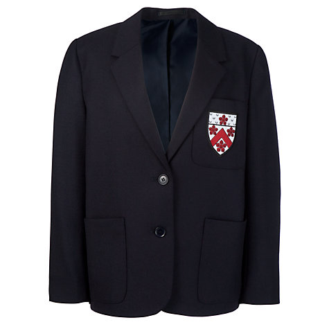 Buy Alleyn's Junior School Girls' Blazer, Navy Online at johnlewis.com