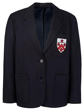 Alleyn's Junior School Girls' Blazer, Navy