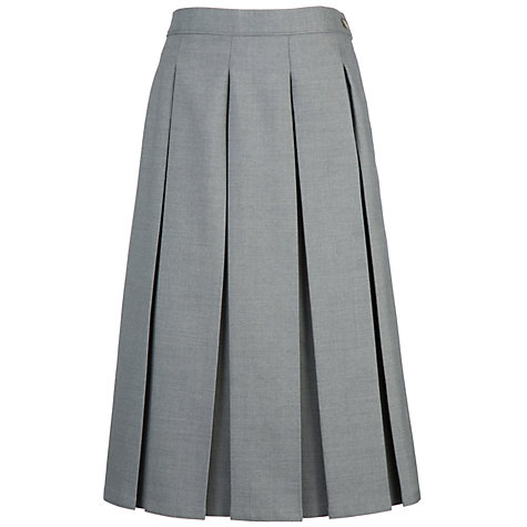 buy grey coat hospital school box pleat skirt lewis