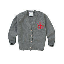 Buy Holy Cross RC Primary School Girls' Cardigan Online at johnlewis.com