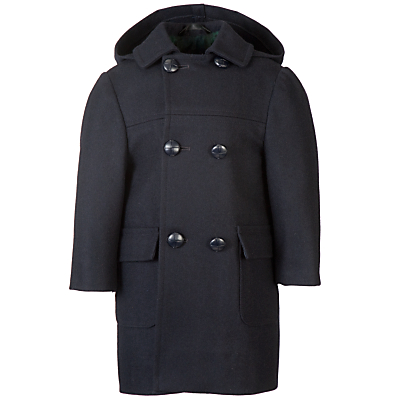 Product photo of School unisex duffle coat navy
