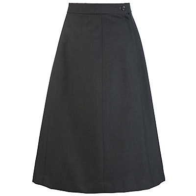 St Margaret's School For Girls A-Line Skirt, Grey