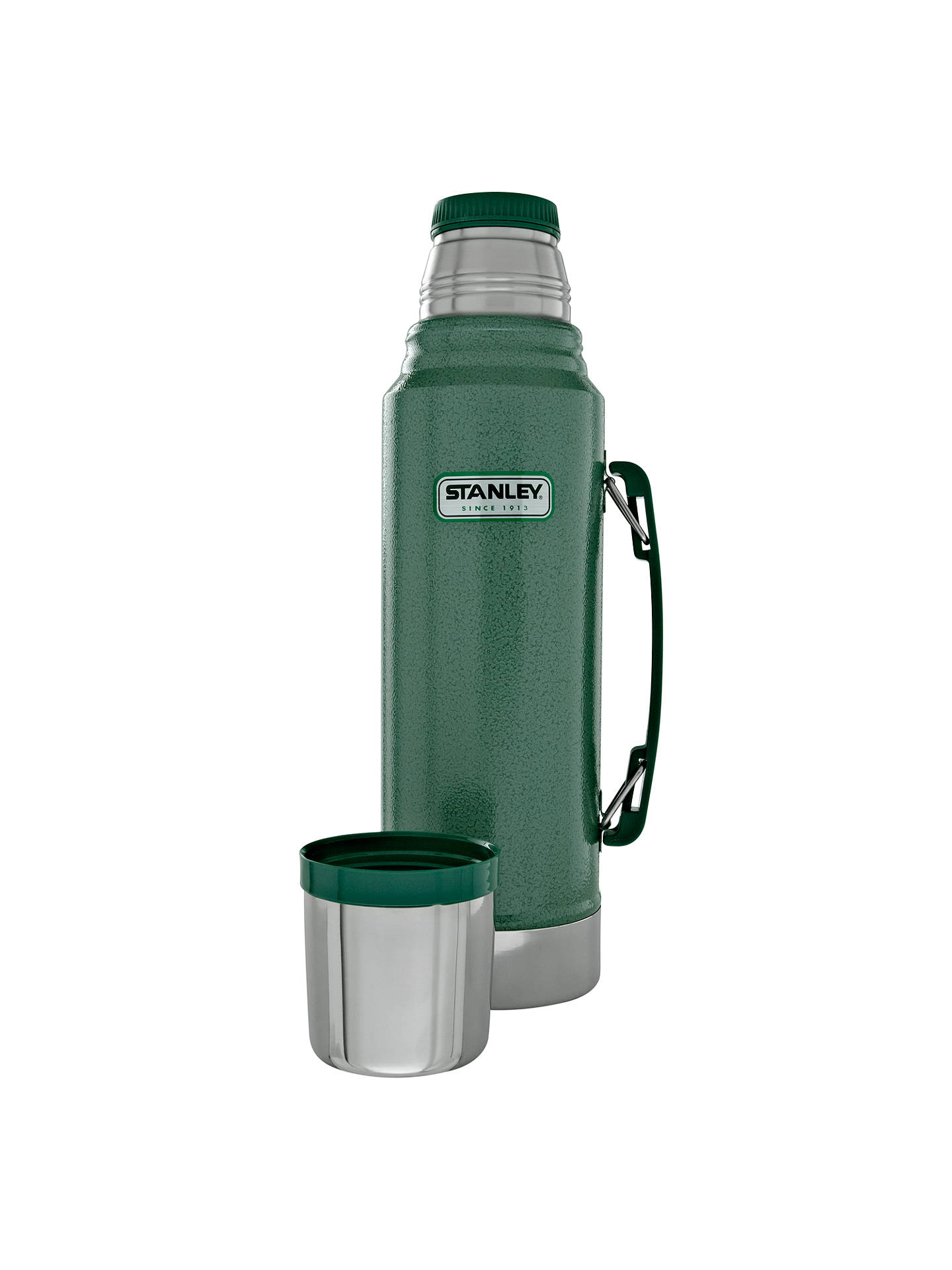 Stanley Classic Vacuum Flask, Hammertone Green, 1L