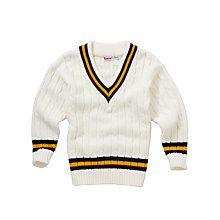 Buy School Prep Boys' Cricket Pullover Online at johnlewis.com