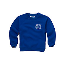 Buy Altrincham C Of E Aided Primary School Unisex Sweatshirt, Royal Blue Online at johnlewis.com
