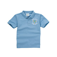 Buy English Martyrs' RC Primary School Unisex Polo Shirt, Sky Blue Online at johnlewis.com