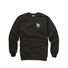 Buy K.D. Grammar School For Boys Sweatshirt, Black Online at johnlewis.com