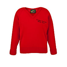 Buy Ponteland Community Middle School Unisex Pullover, Red Online at johnlewis.com