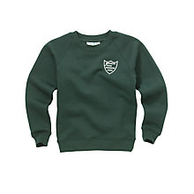 Buy Manchester Muslim Preparatory School Unisex Sweathshirt, Bottle Green Online at johnlewis.com