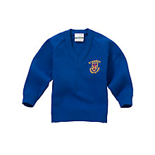 Buy St Peters RC Primary School Unisex Pullover, Royal Blue Online at johnlewis.com