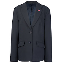 Buy Westfield School Senior Girls' Jacket, Navy Online at johnlewis.com